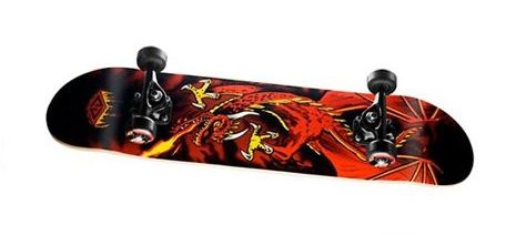 Powell Golden Dragon Flying Dragon Complete Skateboard Cover Picture