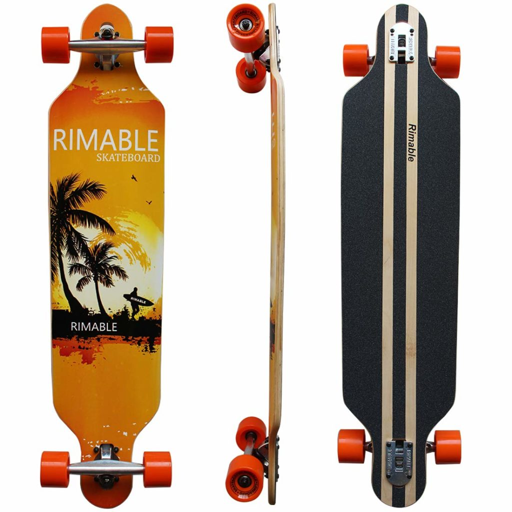 RIMABLE Drop-Through Longboard - 41-inch
